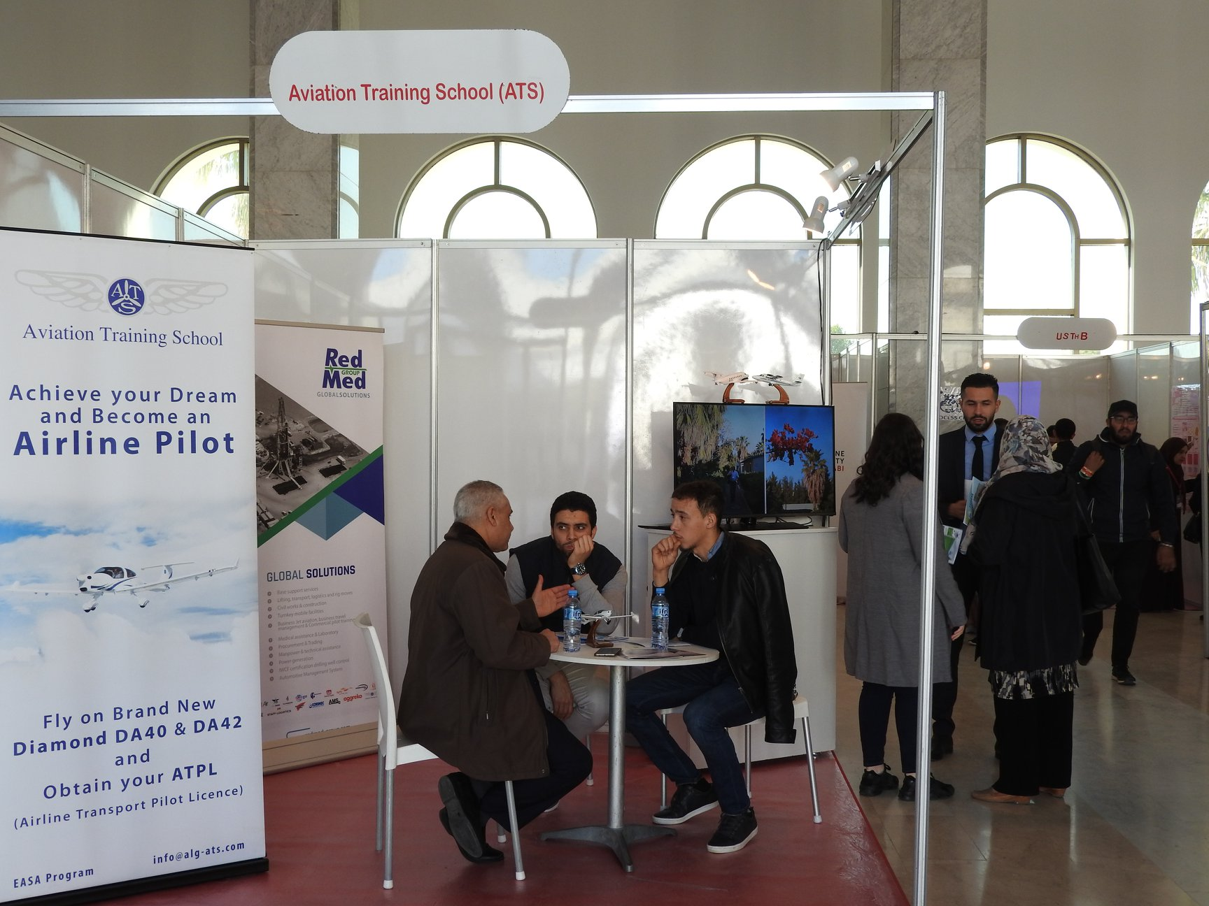 ATS at the Graduate Fair, Algiers.