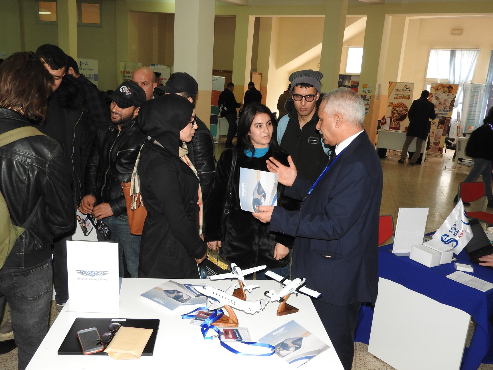ATS at The Graduate Fair, Tizi Ouzou.
